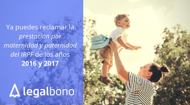 reclamacion-prestacion-maternidad-paternidad-IRPF